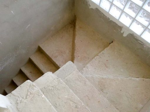 Reforma e construção de Escada Jundiaí